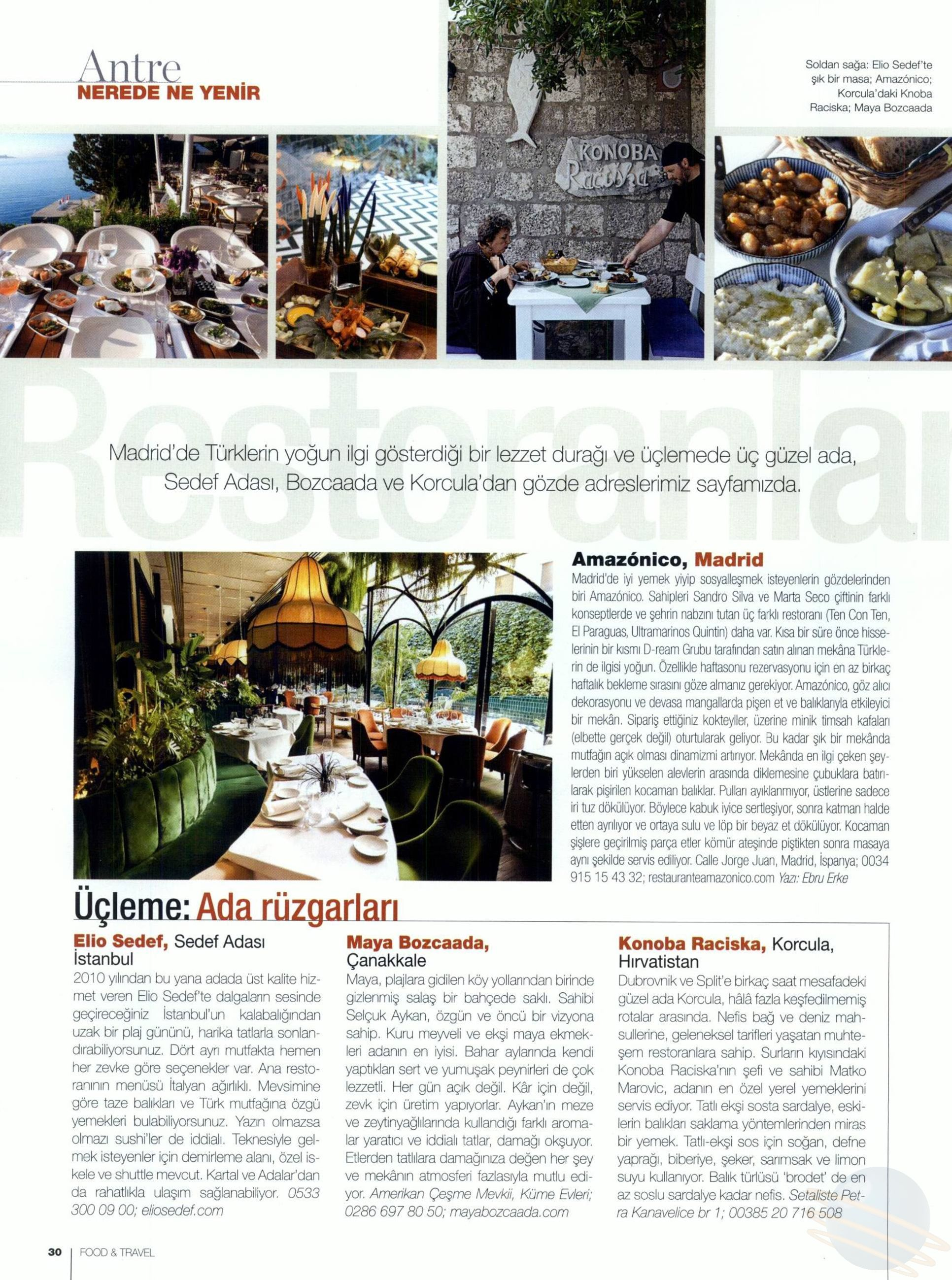 Food and Travel - 01.07.2017